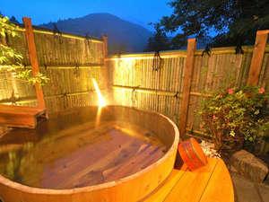 三つの貸切温泉は無料で何度でも。